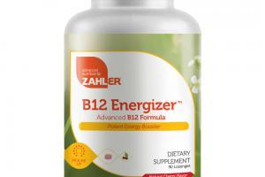 B12 ENERGIZER NATURAL CHERRY FLAVOR ADVANCED B12 FORMULA DIETARY SUPPLEMENT LOZENGES