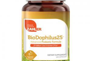 BIODOPHILUS25 ADVANCED PROBIOTIC FORMULA DIETARY SUPPLEMENT CAPSULES