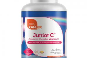 JUNIOR C ADVANCED CHEWABLE VITAMIN C DIETARY SUPPLEMENT TABLETS