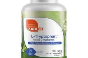 L-TRYPTOPHAN PURIFIED L-TRYPTOPHAN DIETARY SUPPLEMENT CAPSULES