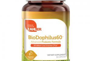 BIODOPHILUS60 ADVANCED PROBIOTIC FORMULA DIETARY SUPPLEMENT CAPSULES