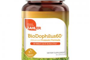 BIODOPHILUS 60 ADVANCED PROBIOTIC FORMULA DIGESTIVE HEALTH DIETARY SUPPLEMENT CAPSULES