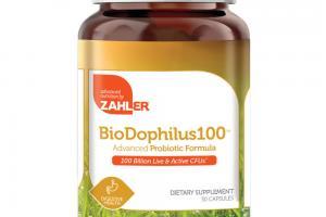 BIODOPHILUS100 ADVANCED PROBIOTIC FORMULA DIETARY SUPPLEMENT CAPSULES