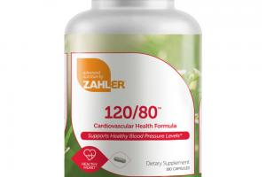 120/80 CARDIOVASCULAR HEALTH FORMULA HEALTHY HEART DIETARY SUPPLEMENT CAPSULES