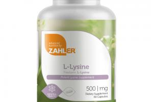 L-LYSINE POTENT DIETARY SUPPLEMENT CAPSULES