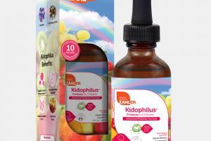 FRUIT PUNCH FLAVORED PROBIOTIC FOR CHILDREN ADVANCED PROBIOTIC FORMULA LIQUID DIETARY SUPPLEMENT