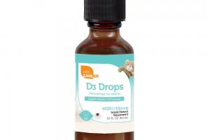 MILD COCONUT D3 MICRODROPS FOR INFANTS LIQUID DIETARY SUPPLEMENT