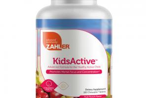 ADVANCED FORMULA FOR THE HEALTHY ACTIVE CHILD CHILDREN'S HEALTH DIETARY SUPPLEMENT CHEWABLE TABLETS, FRUIT PUNCH FLAVOR