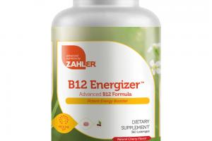 ADVANCED B12 FORMULA POTENT ENERGY BOOSTER DIETARY SUPPLEMENT LOZENGES, NATURAL CHERRY FLAVOR