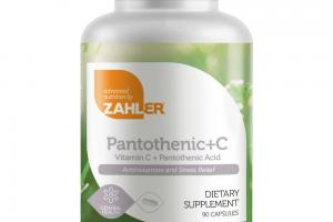 VITAMIN C + PANTOTHENIC ACID ANTIHISTAMINE AND STRESS RELIEF CAPSULES DIETARY SUPPLEMENT