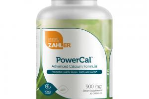 ADVANCED CALCIUM FORMULA PROMOTES HEALTHY BONES, TEETH, AND GUMS DIETARY SUPPLEMENT CAPSULES