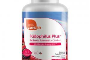 KIDOPHILUS PLUS PROBIOTIC FORMULA FOR CHILDREN BERRY FLAVORED CHEWABLE TABLETS DIETARY SUPPLEMENT