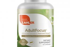 ADULT FOCUS DIETARY SUPPLEMENT CAPSULES