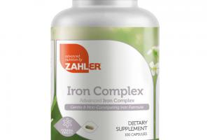 ADVANCED IRON COMPLEX DIETARY SUPPLEMENT CAPSULES
