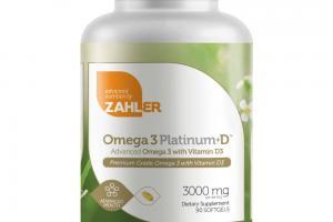 OMEGA 3 PLATINUM+D 3000 MG DIETARY SUPPLEMENT SOFTGELS