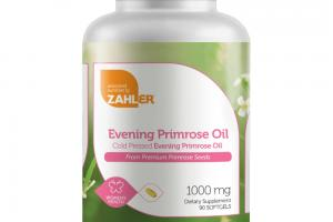 COLD PRESSED EVENING PRIMROSE OIL FROM PREMIUM PRIMROSE SEEDS DIETARY SUPPLEMENT SOFTGELS