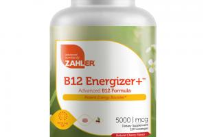 B12 ENERGIZER+ ADVANCED B12 FORMULA NATURAL CHERRY DIETARY SUPPLEMENT LOZENGES