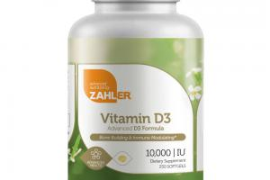 VITAMIN D3 ADVANCED D3 FORMULA BONE BUILDING & IMMUNE MODULATING 10,000 IU SOFTGELS DIETARY SUPPLEMENT