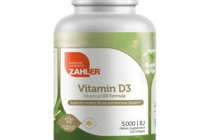 VITAMIN D3 ADVANCED FORMULA DIETARY SUPPLEMENT SOFTGELS