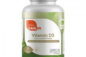 ADVANCED VITAMIN D3 FORMULA DIETARY SUPPLEMENT SOFTGELS