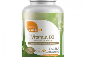ADVANCED VITAMIN D3 FORMULA BONE BUILDING & IMMUNE MODULATING ADVANCED HEALTH DIETARY SUPPLEMENT CHEWABLE TABLETS, ORANGE FLAVOR