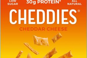 CHEDDAR CHEESE LIGHT & CRISPY BAKED CRACKERS