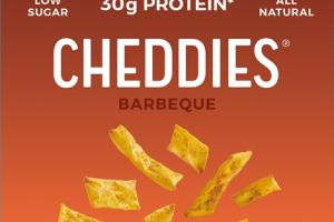 BARBEQUE CHEDDAR CHEESE LIGHT & CRISPY BAKED CRACKERS