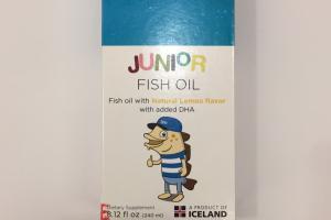Junior Fish Oil Dietary Supplement