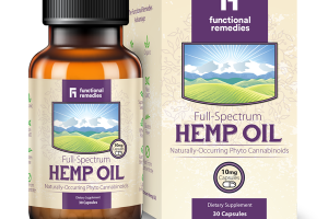 FULL-SPECTRUM HEMP OIL DIETARY SUPPLEMENT CAPSULES