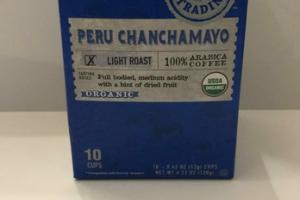 ORGANIC LIGHT ROAST PREU CHANCHAMAYO 100% ARABICA COFFEE