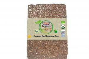 Organic Red Fragrant Rice