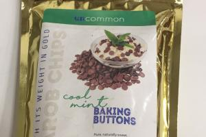 Carob Chips Baking Buttons