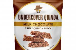 Milk Chocolate Crispy Quinoa Snack
