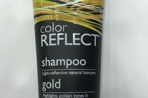 LIGHT-REFLECTIVE NATURAL HAIRCARE SHAMPOO, GOLD