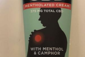 CBD+ MENTHOLATED CREAM WITH MENTHOL & CAMPHOR