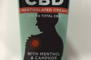 CBD + MENTHOLATED CREAM