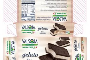 VANILLA ITALIAN SANDWICH BARS GELATO NON DAIRY FROZEN DESSERT
