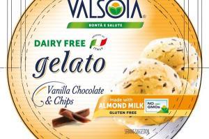 VANILLA CHOCOLATE & CHIPS GELATO NON DAIRY FROZEN DESSERT