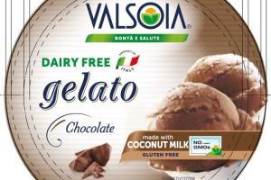 CHOCOLATE GELATO NON DAIRY FROZEN DESSERT