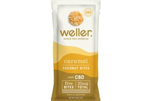 CARAMEL COCONUT BITES WITH CBD DIETARY SUPPLEMENT