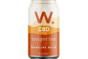 TANGERINE FLAVORED CBD 25MG SPARKLING WATER