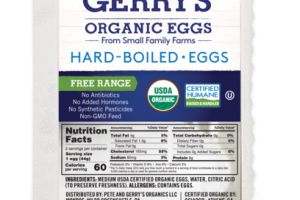 ORGANIC HARD-BOILED EGGS
