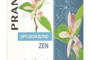 DIFFUSION BLEND ZEN SWEET ORANGE & CEDARWOOD FOR HARMONY AND BALANCE