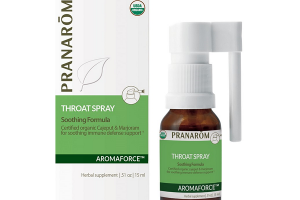 THROAT SOOTHING CAJEPUT & MARJORAM IMMUNE DEFENSE SUPPORT FORMULA HERBAL SUPPLEMENT SPRAY