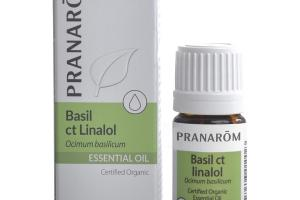ESSENTIAL OIL, BASIL CT LINALOL