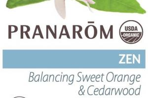 BALANCING SWEET ORANGE & CEDARWOOD, ZEN