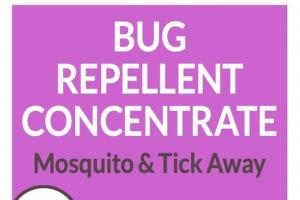 BUG REPELLENT CONCENTRATE MOSQUITO & TICK AWAY