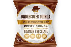 MILK CHOCOLATE CRISPY QUINOA