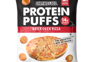 BRICK OVEN PIZZA FLAVORED PROTEIN PUFFS
