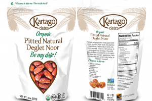 ORGANIC PITTED NATURAL DEGLET NOOR DATES